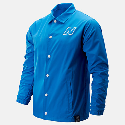 New Balance NB Modern Coaches Jacket, MJ91903LBE image number null