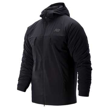 New Balance R.W.T. NB Heat FLX Jacket, Black