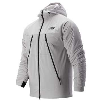 New Balance R.W.T. NB Heat FLX Jacket, Overcast
