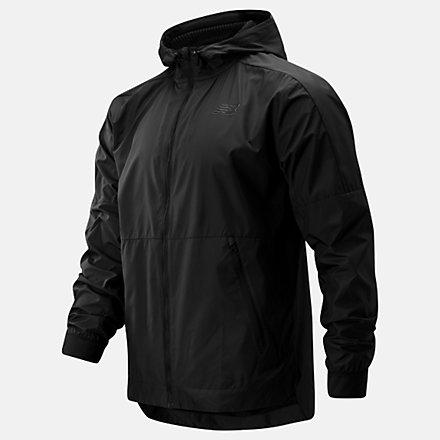 New Balance R.W.T. Lightweight Jacket, MJ93057BK image number null