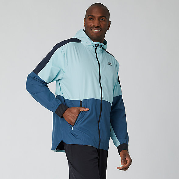 New Balance R.W.T. Lightweight Jacket, MJ93057DRZ