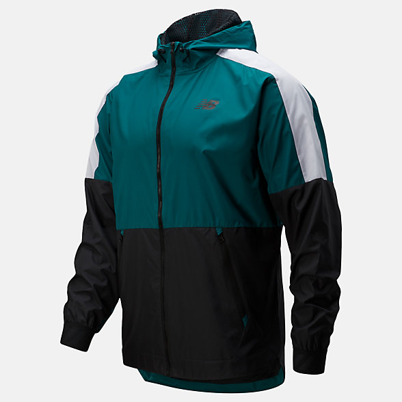 New Balance R.W.T. Lightweight Jacket, MJ93057MG2