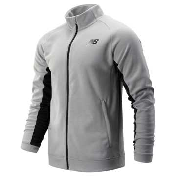 New Balance Tenacity Knit Jacket, Athletic Grey