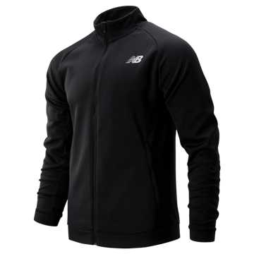 New Balance Tenacity Knit Jacket, Black