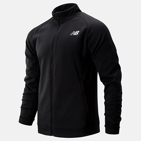 New Balance Tenacity Knit Jacket, MJ93090BK