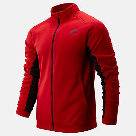 New Balance Tenacity Knit Jacket, MJ93090REP image number null