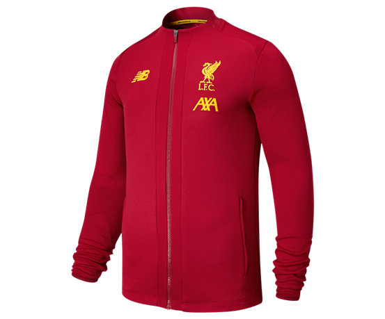 new arrivals 5385e 09274 New Balance Liverpool FC Game Jacket, Red Pepper