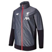 NB Liverpool FC Managers Rain Jacket, Black