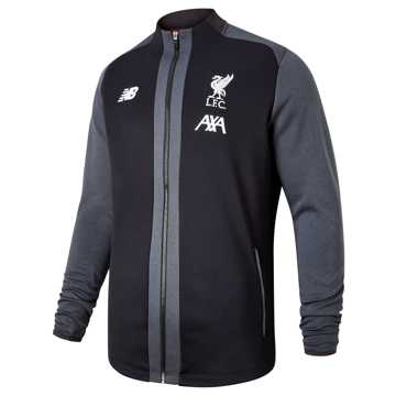 New Balance Liverpool FC Managers Game Jacket, Black