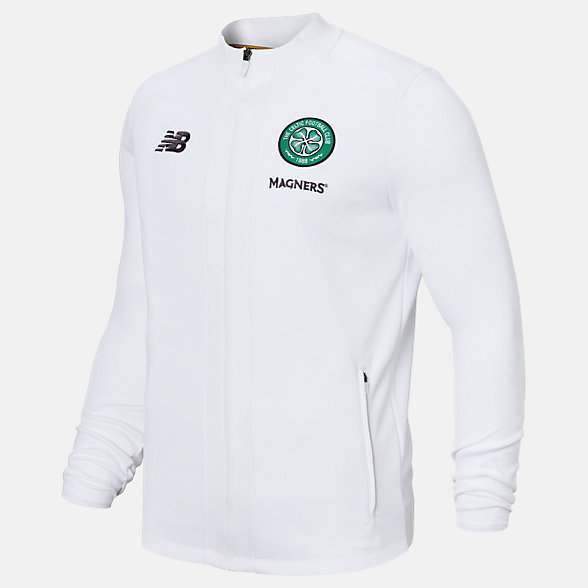 New Balance Celtic FC Game Jacket, MJ931102WT