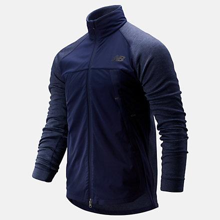 New Balance Fortitech Jacket, MJ93140PGM image number null