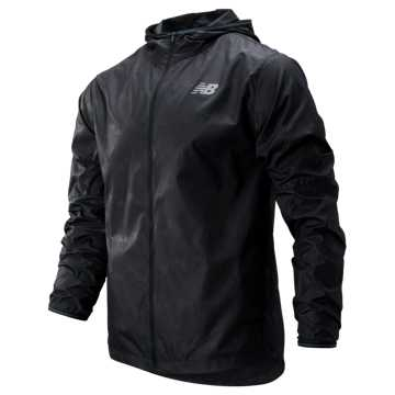 New Balance Velocity Jacket, Black