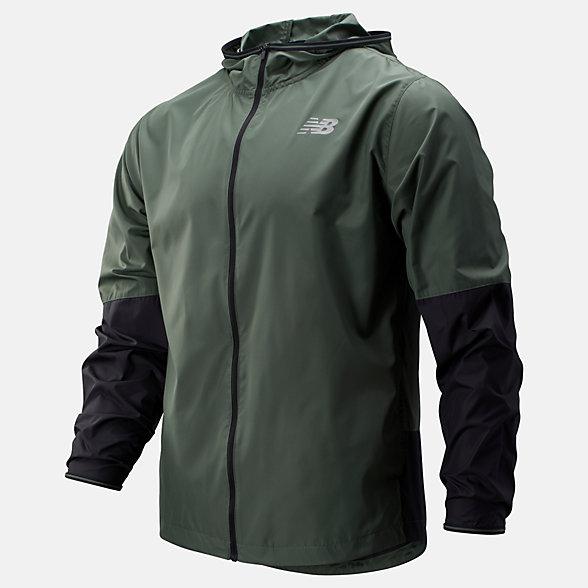 New Balance Velocity Jacket, MJ93195SLG