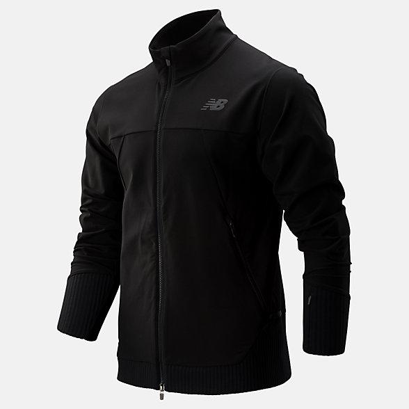 New Balance Q Speed Winterwatch Jacket, MJ93244BK