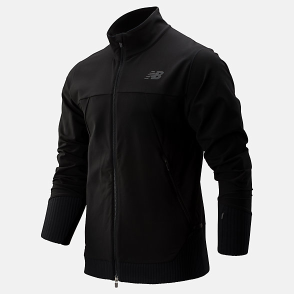 New Balance Q Speed Winterwatch Jacket, MJ93244BK