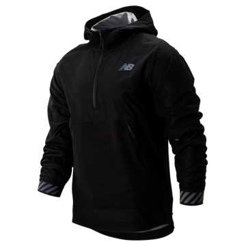 New Balance Q Speed Waterproof Jacket, Black