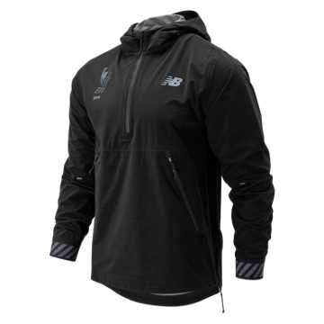 New Balance NYC Marathon Q Speed Waterproof Jacket, Black