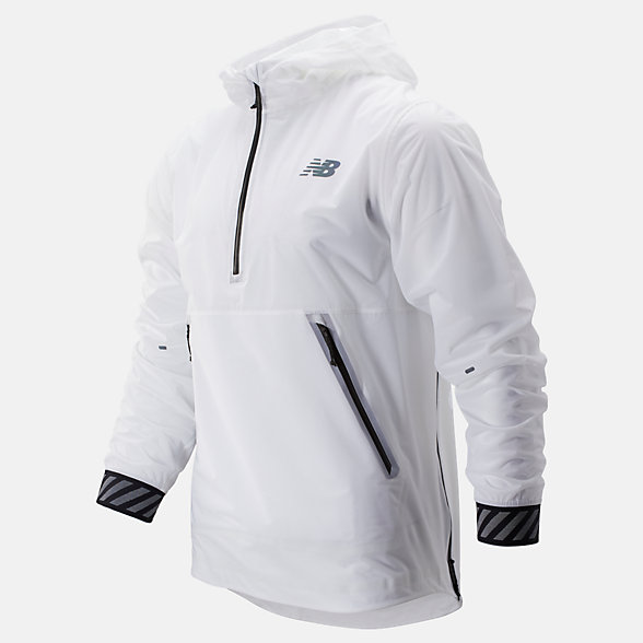 New Balance Q Speed Waterproof Jacket, MJ93275WT