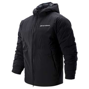New Balance Sport Style Heatdown S Jacket, Black