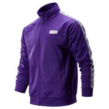 New Balance NB Athletics Classic Track Jacket, Prism Purple