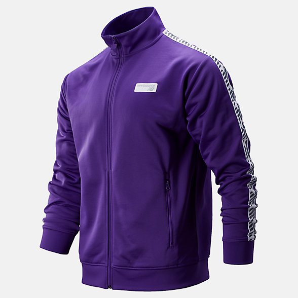 NB NB Athletics Classic Track Jacket, MJ93514PRP