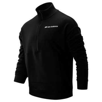 New Balance Sport Style Optiks 1/4 Zip, Black