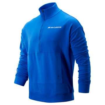 New Balance Sport Style Optiks 1/4 Zip, Vivid Cobalt