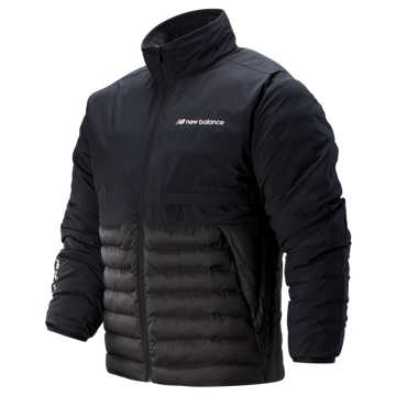 New Balance Sport Style Synth Jacket, Black