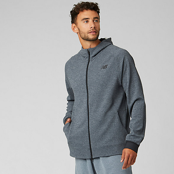 New Balance NB Basketball Finisher Full Zip, MJ93782ORA