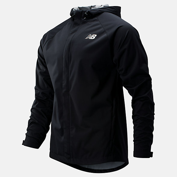 New Balance Sport Rain Jacket, MJ93902BK