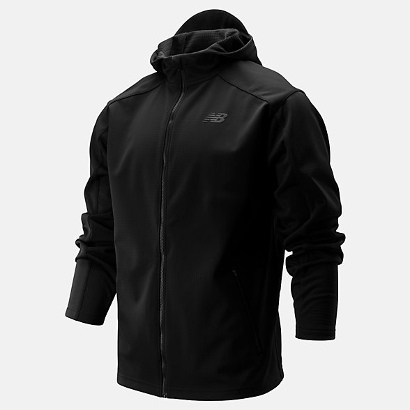 New Balance Core Soft Shell Jacket, MJ93904BK