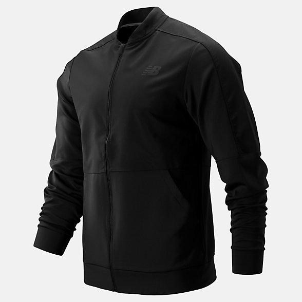 New Balance Energy Woven Jacket, MJ93905BK