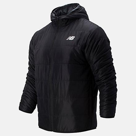New Balance Core Puffer Jacket, MJ93906BK image number null