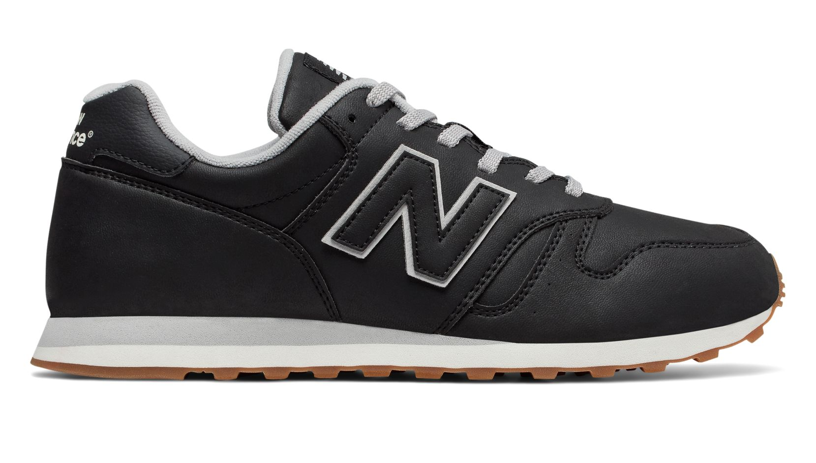 new balance 373 grey black