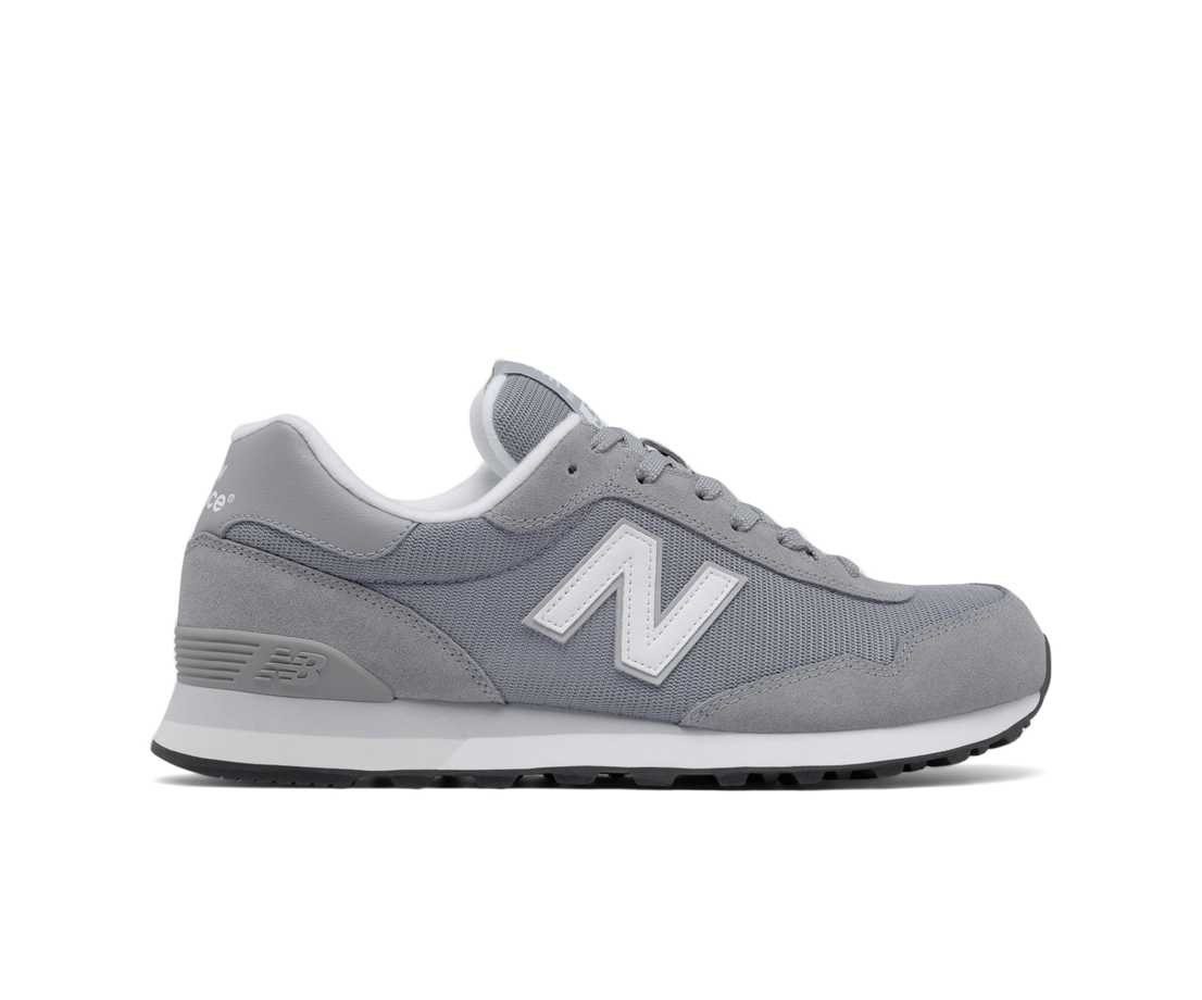 New Balance 515 Core, Steel with White