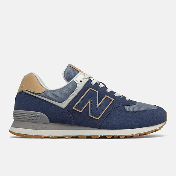New Balance 574系列男女同款复古休闲鞋, ML574AB2