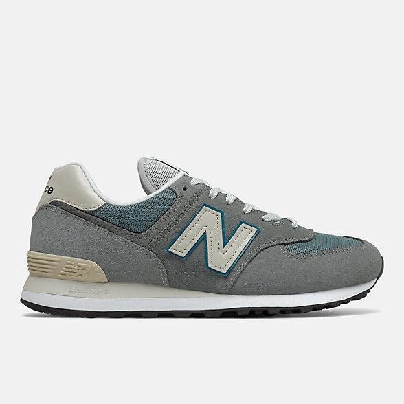 New Balance 574系列男女同款复古休闲鞋, ML574BA2
