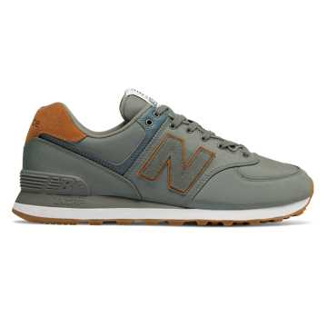 New Balance 574, Sedona Sage with Brown Sugar