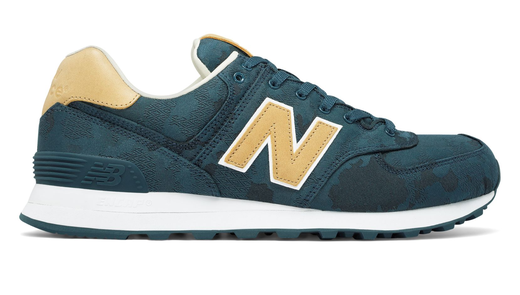 NB 574 Camo, Tornado with Toasted Coconut