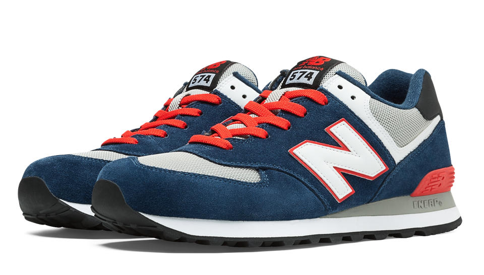 new balance 574 navy purple