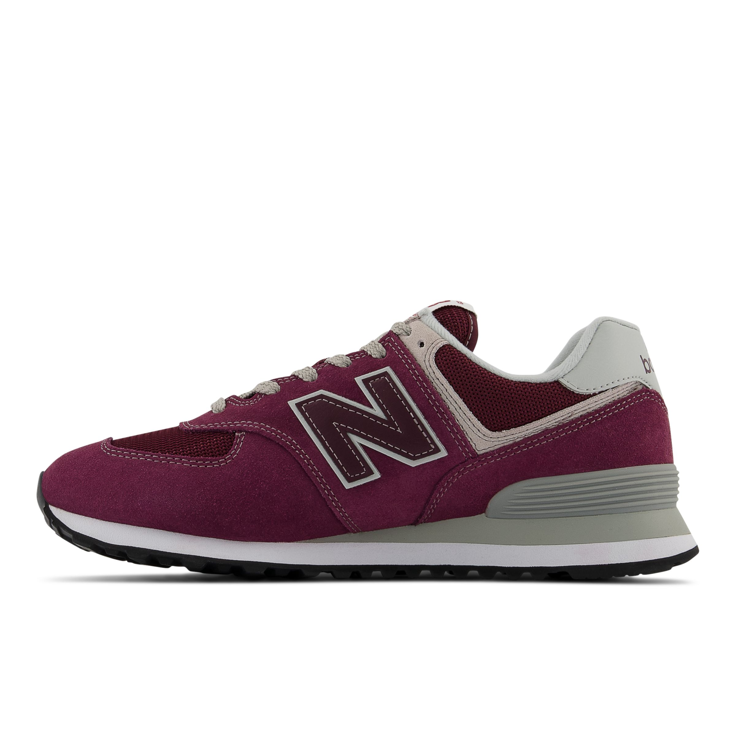 new balance 574 core burgundy