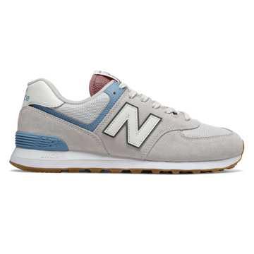 New Balance 574 V2系列男女同款复古休闲运动鞋, 象牙白