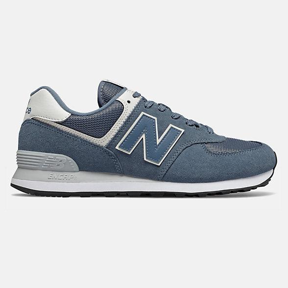 New Balance 574系列男女同款复古休闲鞋, ML574ERI