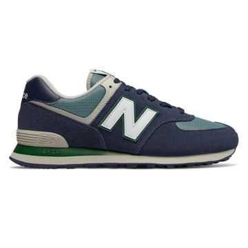 New Balance 574, Pigment with Chambray
