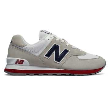 New Balance 574 Core Plus, Nimbus Cloud with Navy