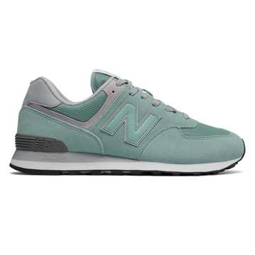 New Balance 574 Core Plus, Storm Blue with White