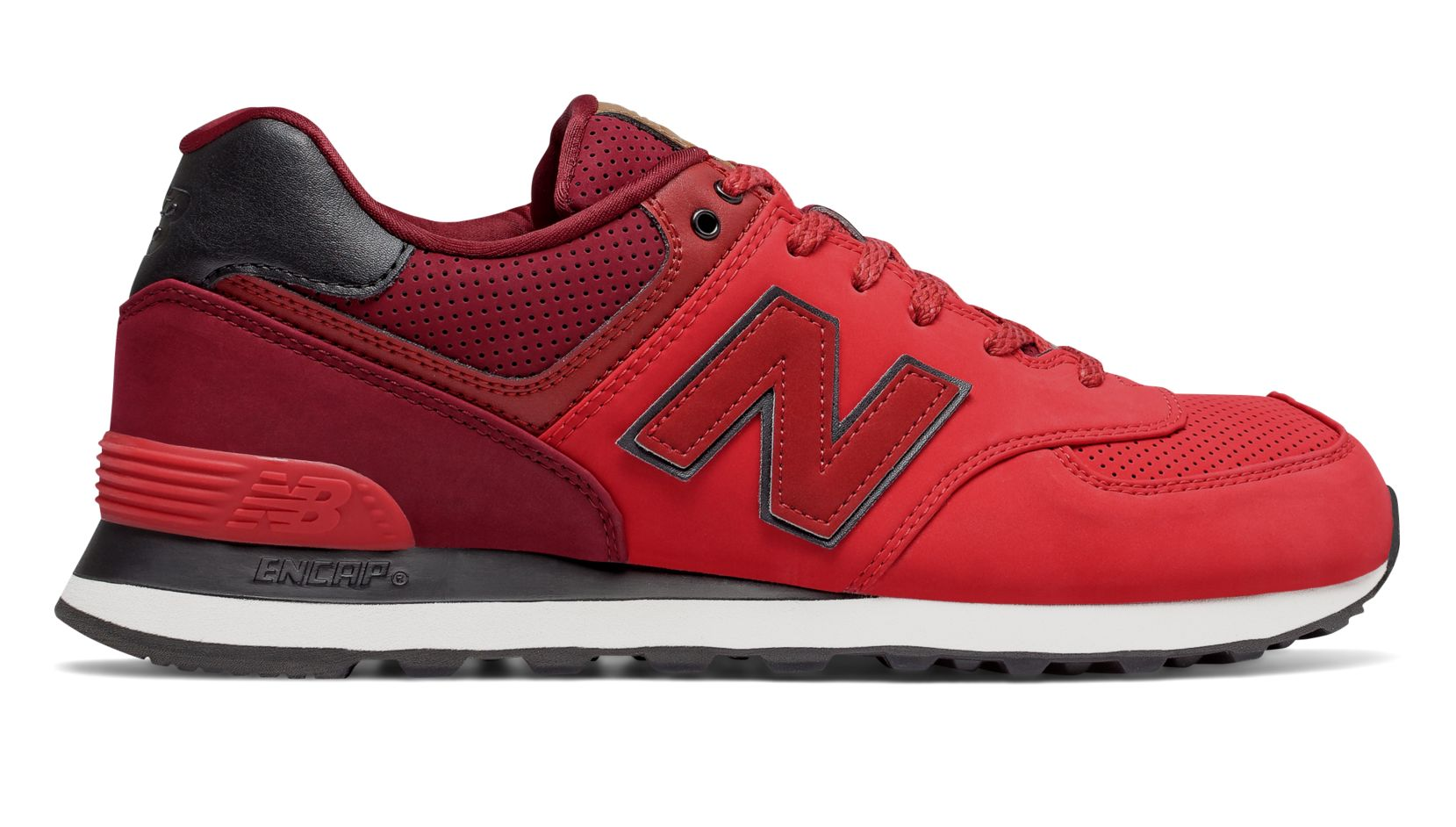 574 new balance all red