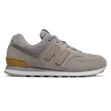 New Balance 574, Marblehead with Goldrush