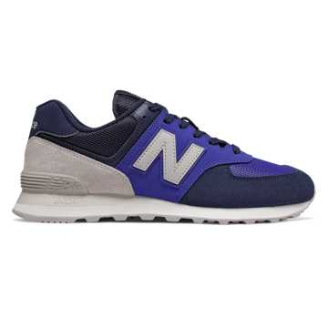 New Balance 574, Lapis Blue with Sea Salt