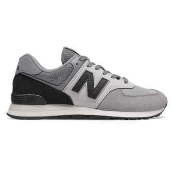 New Balance 574, Marblehead with Black